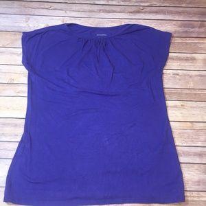 Merona Women's Sleeveless Top Blouse Purple Size L